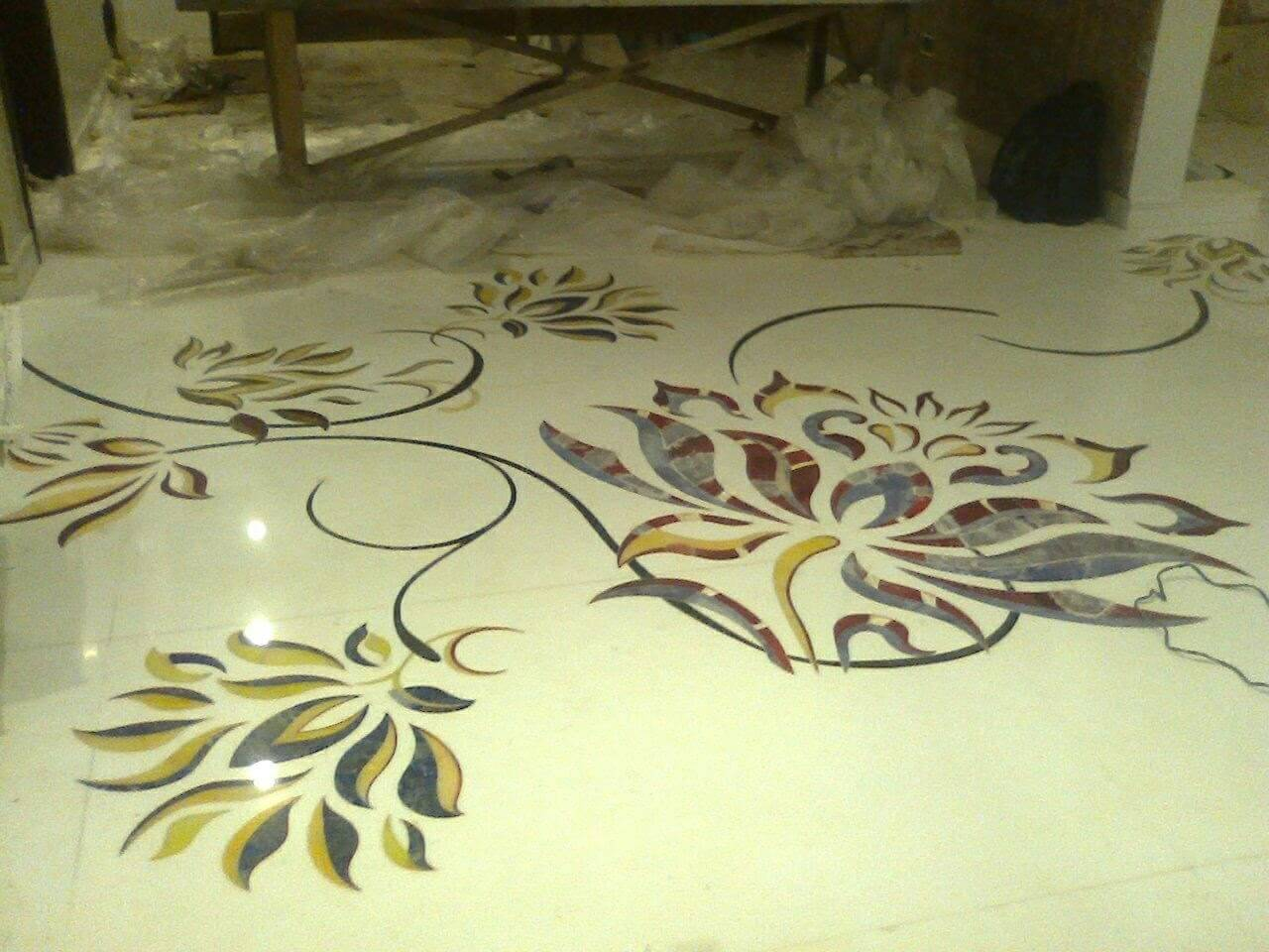 Marble Inlay Flooring Designs : Most trending marble inlay flooring designs or patterns