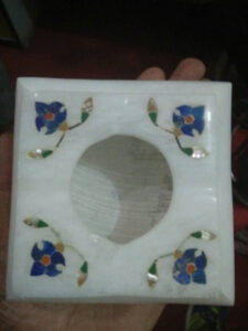 marble inlaid handicraft ashtray
