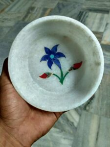 marble handicraft inlaid bowl