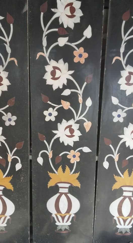 marble inlay work border design