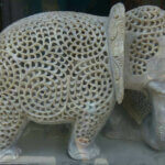 soapstone handicraft elephant