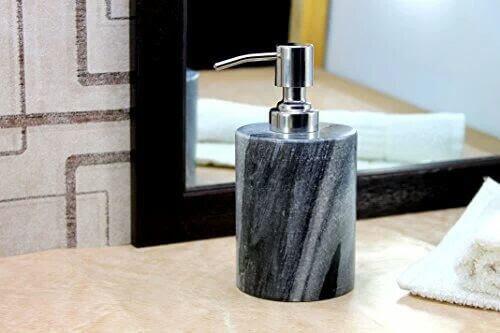 marble handicraft liquid soap dispenser