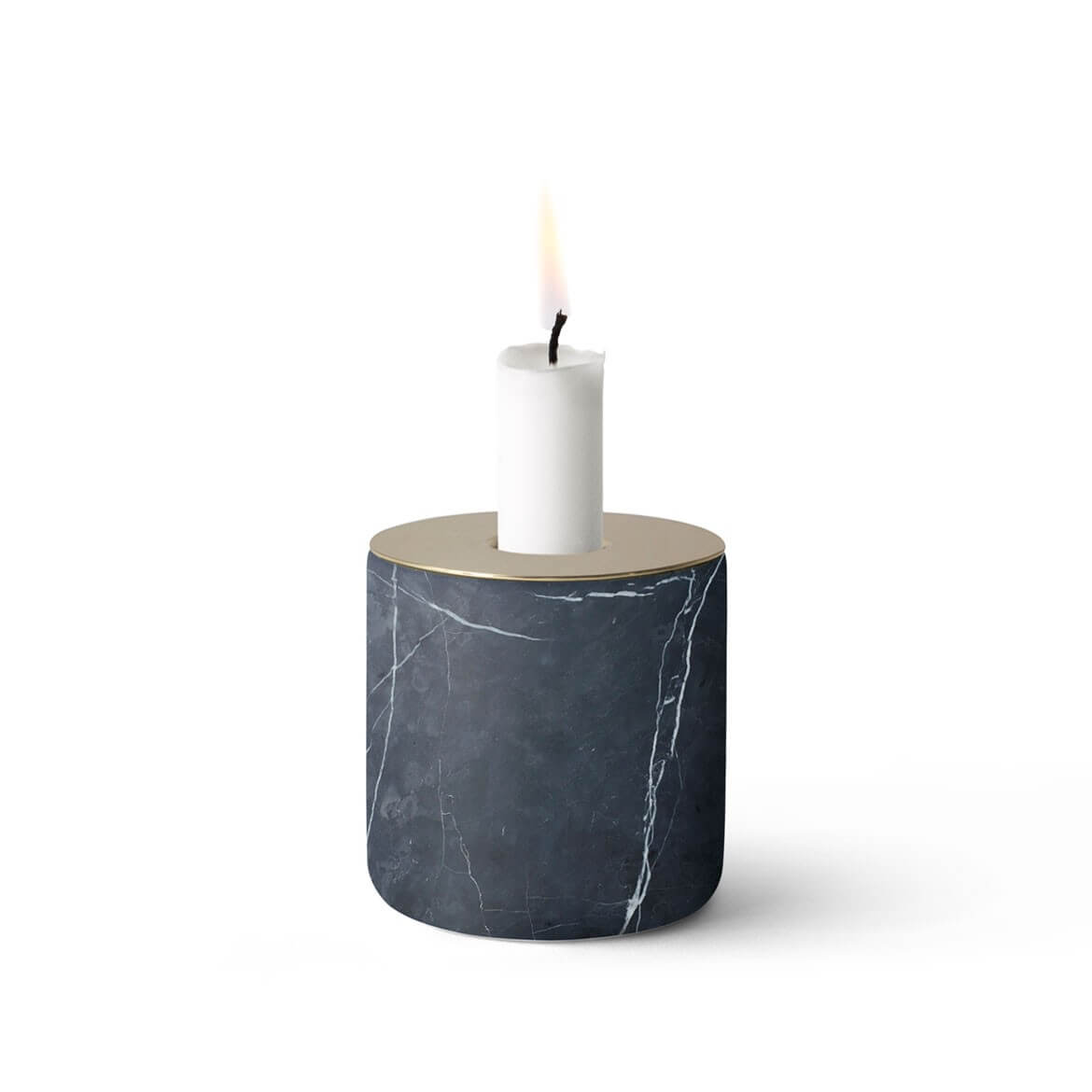 marble handicraft candle holder