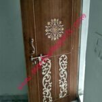 China White MOP wooden Door Inlay work